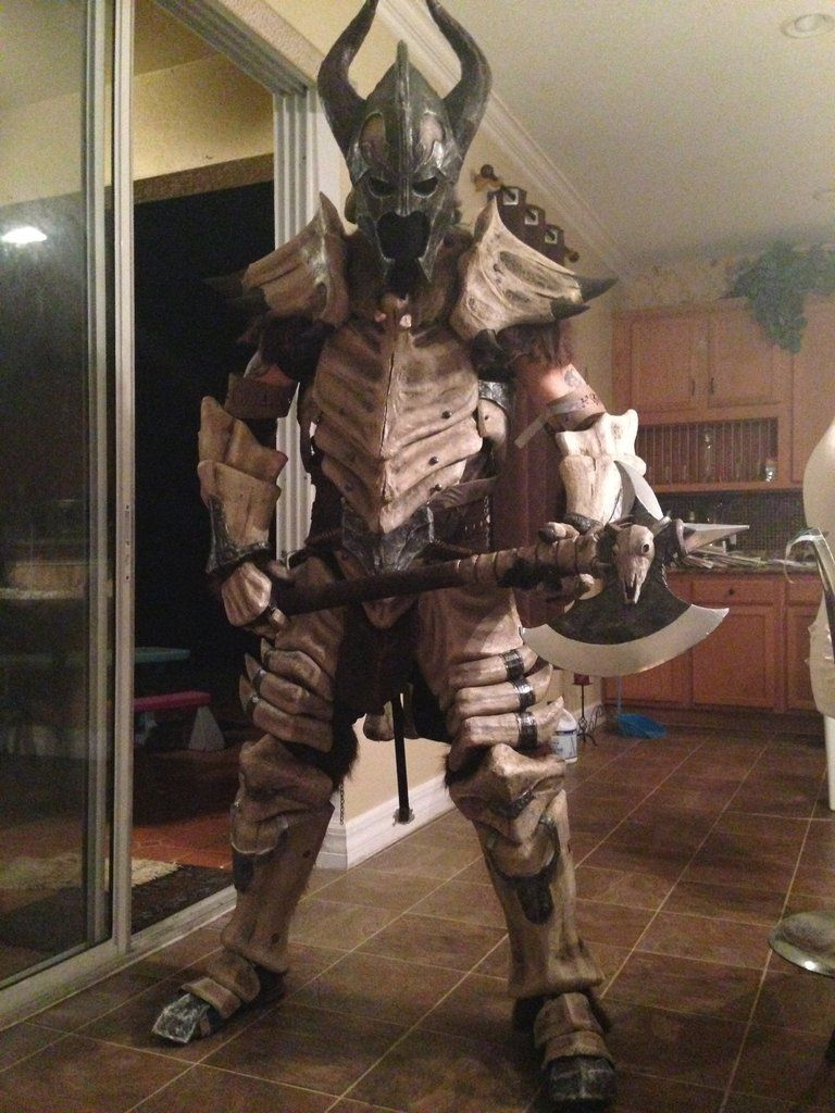 how to make dragonbone armour