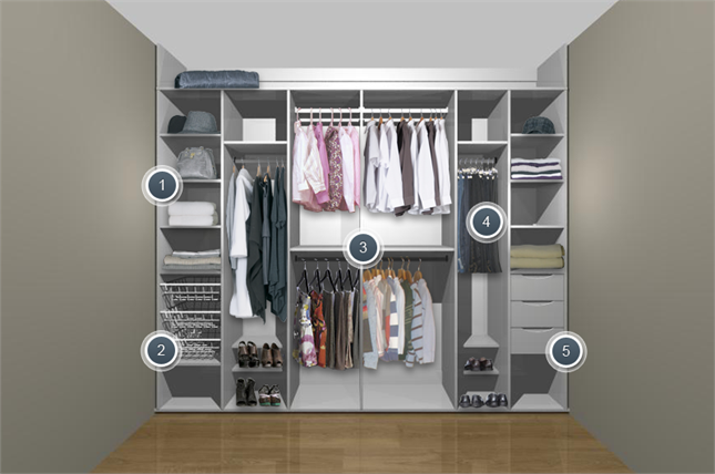Wardrobe For Disabled People Or Those With Accessibility Needs