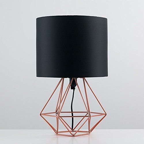 Modern Copper Metal Basket Cage Style