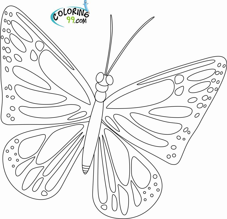Monarch Butterfly Coloring Page Luxury Butterfly Coloring Pages Southwestdanceacademy Com Butterfly Coloring Page Coloring Pages Beautiful Butterflies [ 918 x 950 Pixel ]