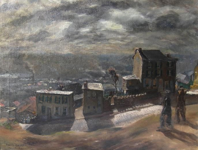 Francis Speight, Boone Street, 1945