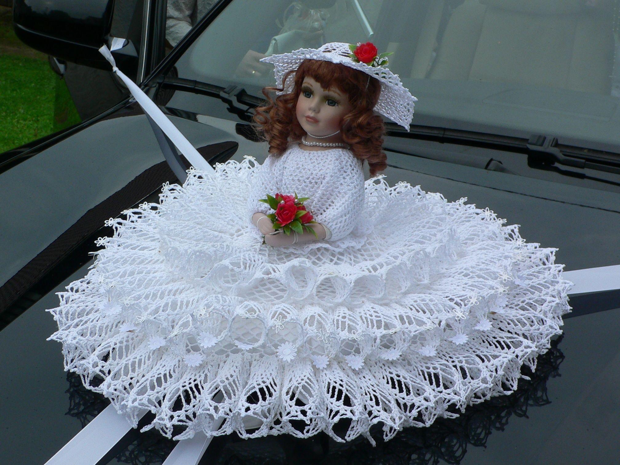 Panenka Na Svatebni Auto Hackovani Creative Words Dolls A Wedding
