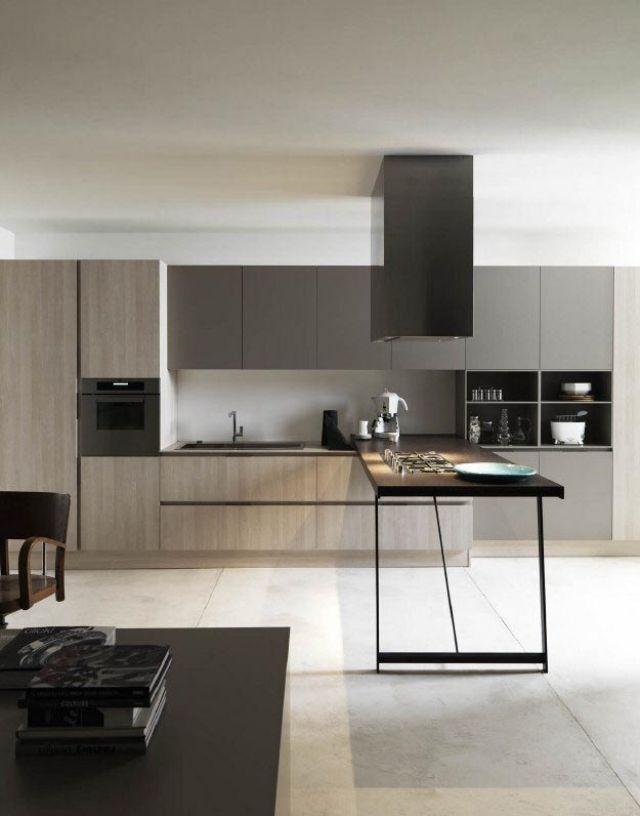 Italienische Design Küche Kora bietet flexible Küchenplanung Küche - modern küche design