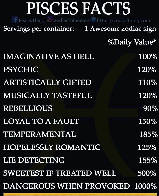 pisces astrology personality traits