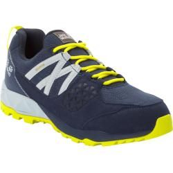 Photo of Jack Wolfskin Wasserdichte Männer Wanderschuhe Cascade Hike Texapore Low Men 43 blau Jack Wolfskin