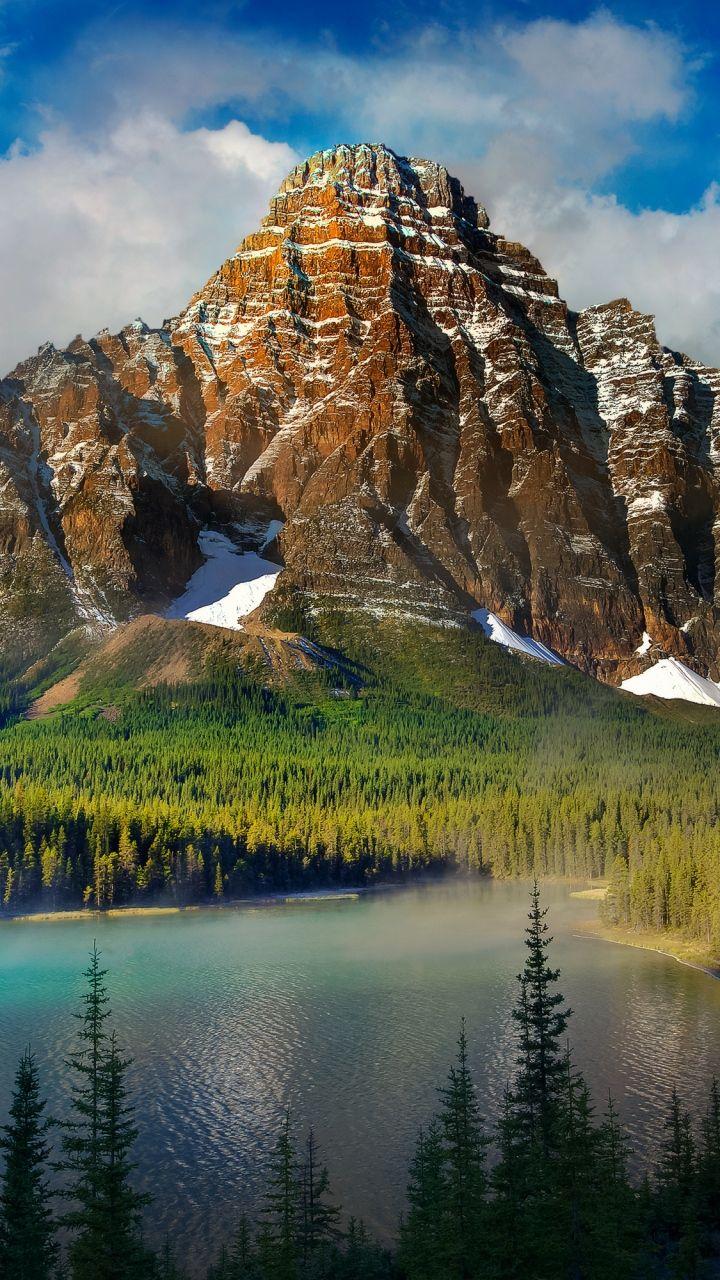 Download Wallpaper 720x1280 Beautiful Scenery Mountains Lake Nature Samsung Galaxy S3 Hd Background Beautiful Nature Pictures Beautiful Nature Scenery