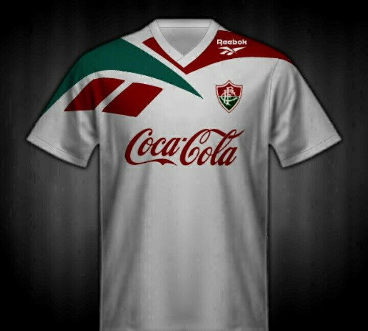 293dedec00f16 Fluminense of Brazil away shirt for 1995-96.