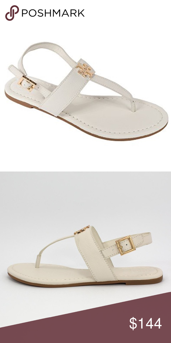 099b4e8130ebd Tory Burch Laura Sandals Worn but still in great condition! Can be cleaned