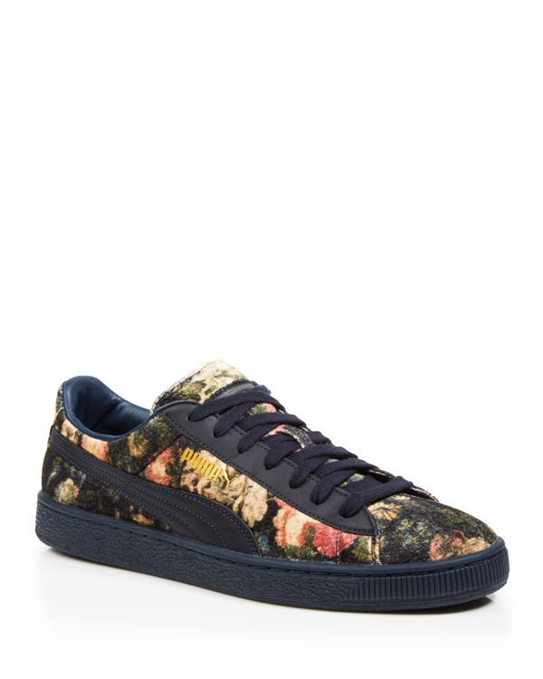 e6b2f5b60c12 Puma Lace Up Sneakers - House of Hackney x Puma Rose Print