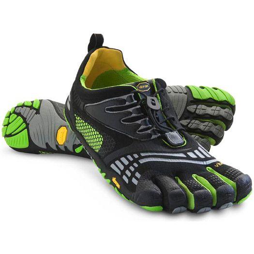 KMD SPORT LS Trainers black blue green Men's Running Shoes