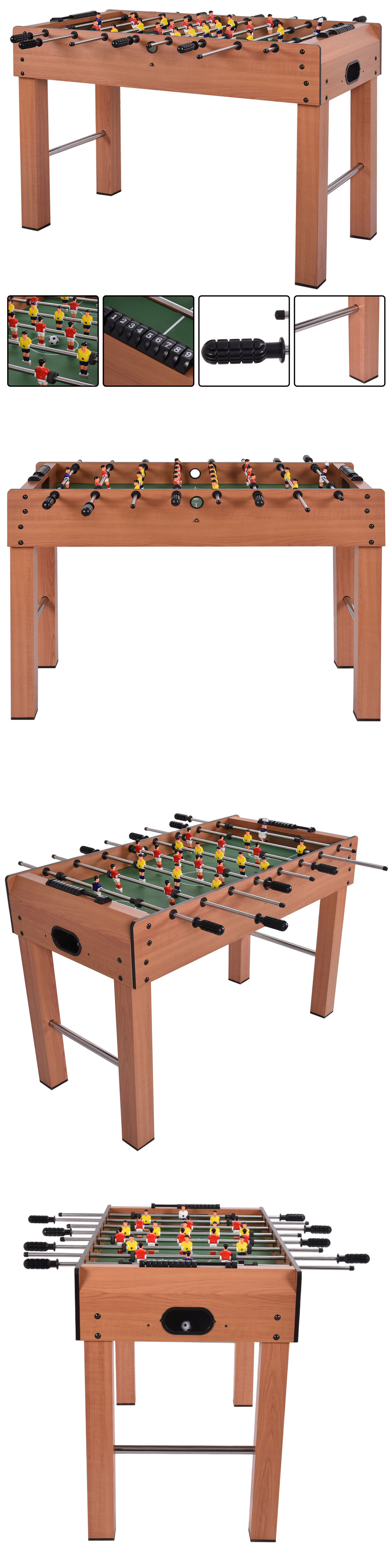 Foosball 36276: 48 Foosball Table Competition Game Soccer Arcade Sized  Football Sports Indoor BUY IT