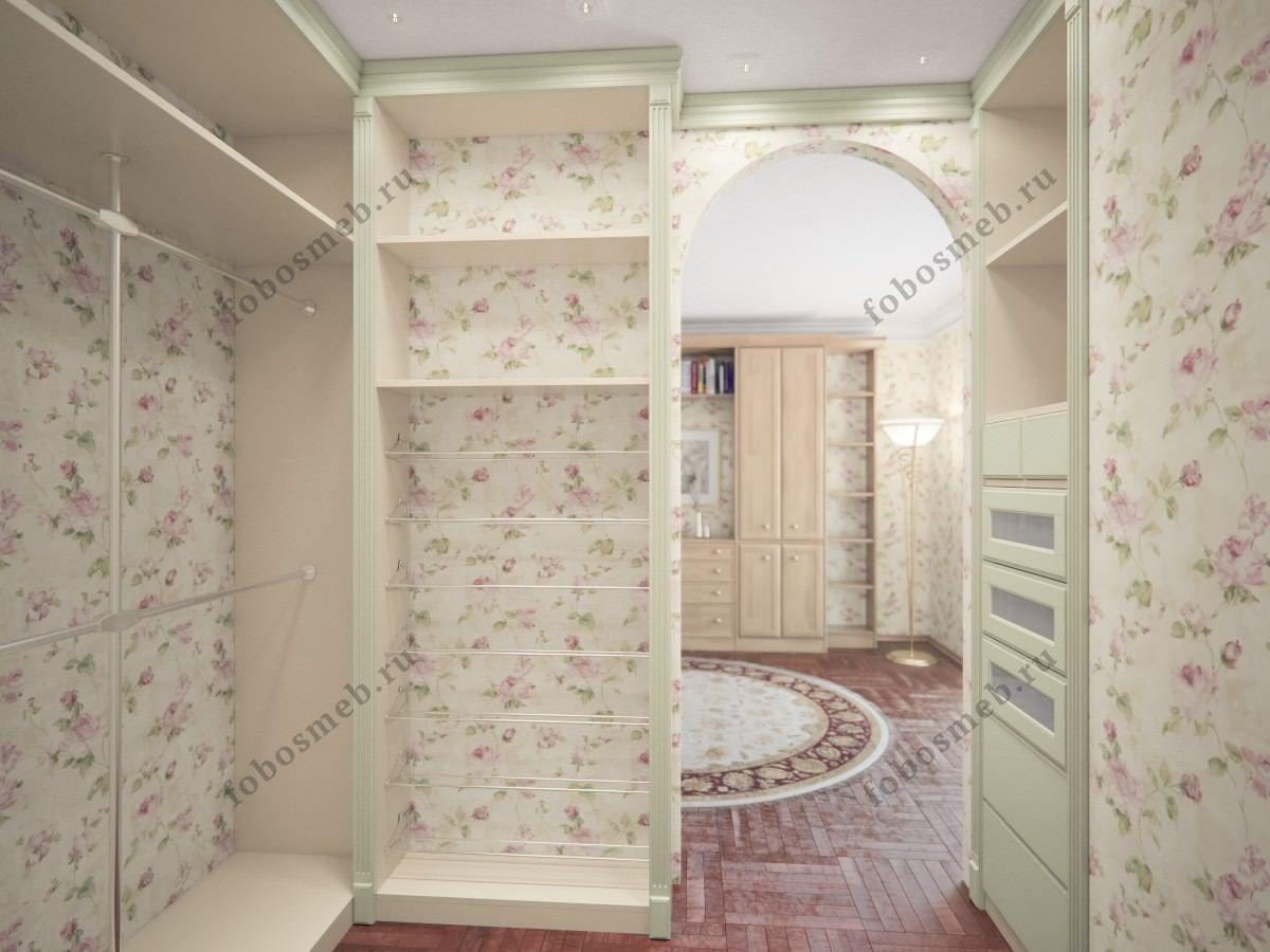 Гардеробная комната в стиле Прованс   Дизайн гардеробной ...
