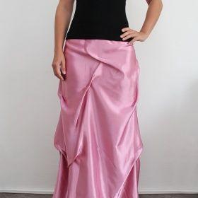 298616df337c Starorůžová plesová sukně neznačková - foto č. 1