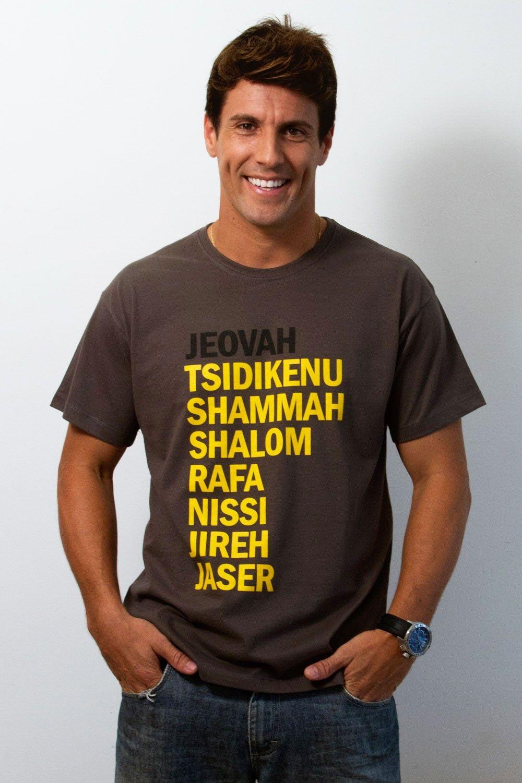 166599f1c445 Nomes de Deus - Masculino - Camisetas cristãs | christian wear ...