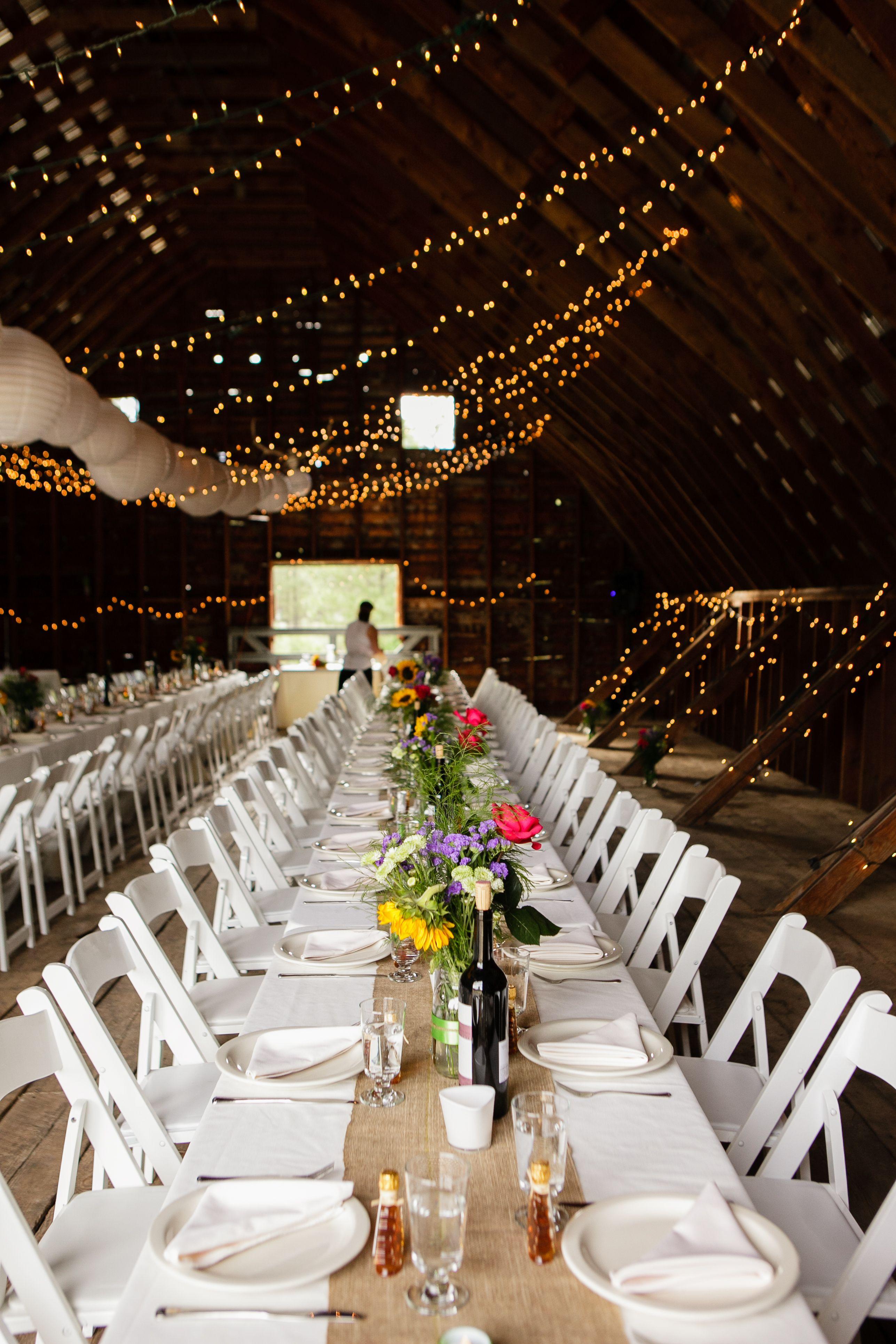 Rustic Wedding Le Barn Mazama Ranch House