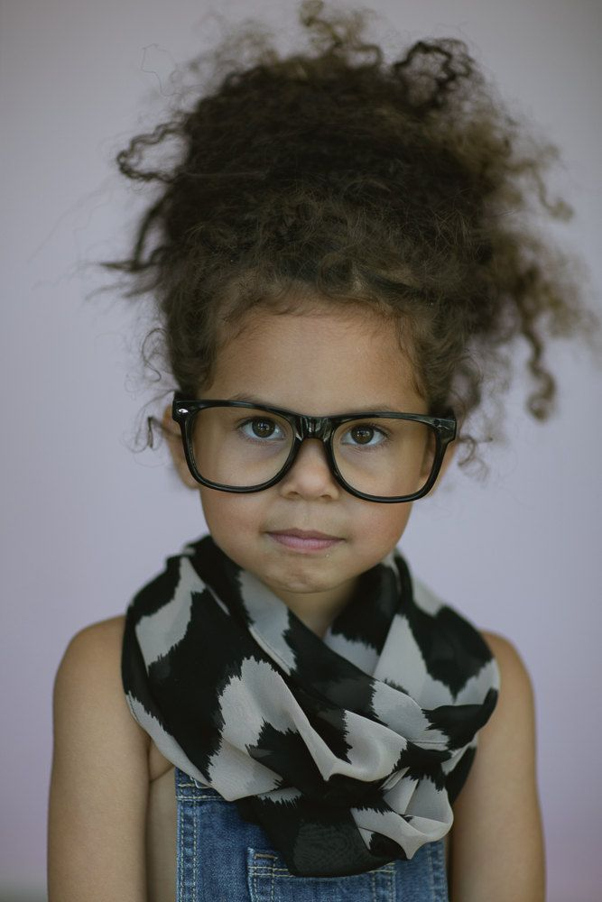 Little Girl's Infinity Scarf  Baby Toddler by ThreeBirdNest, $28.00