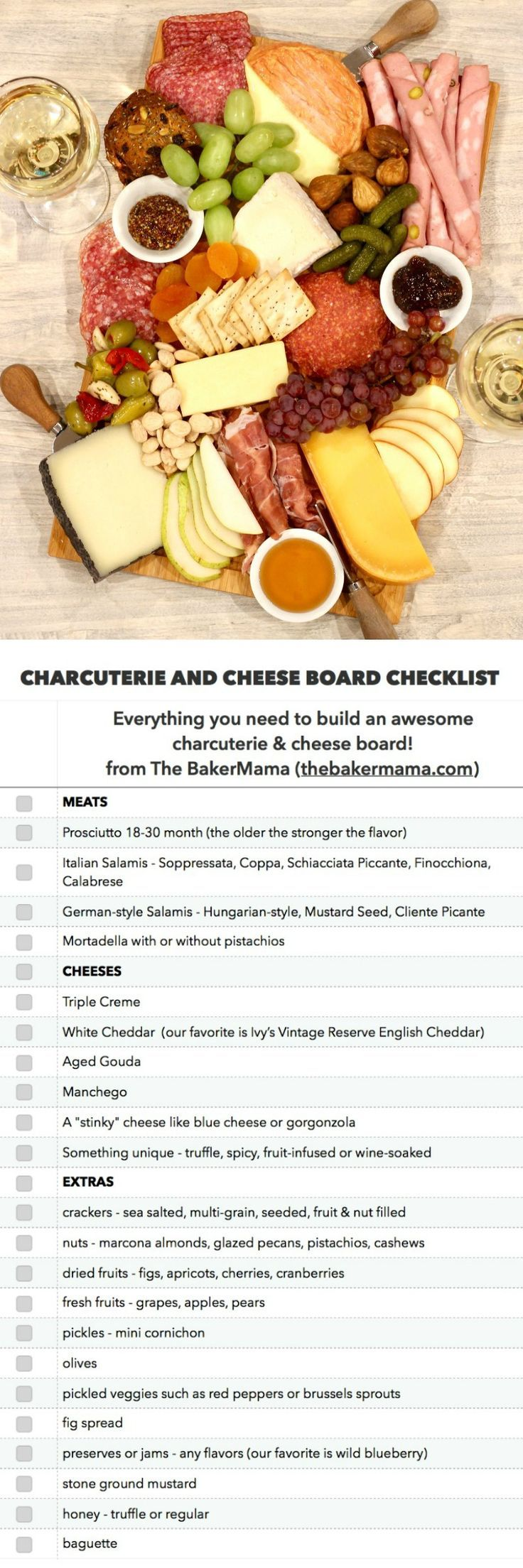 Die BEST Charcuterie and Cheese Board Checkliste Die BEST Charcuterie and Cheese Board Checkliste -