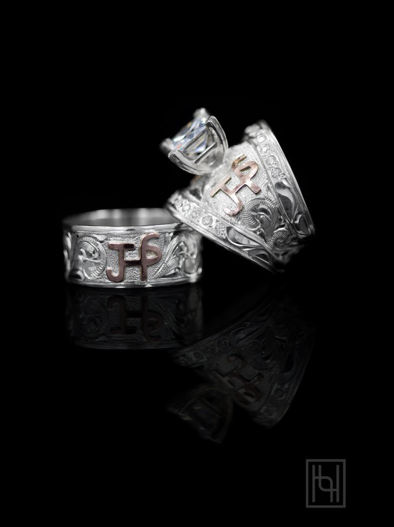 Romance Forever Ring Set Say I Love You With This Stunning His And