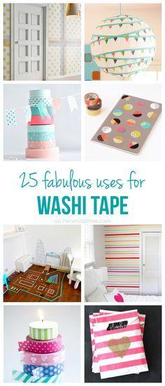25 Dinge, die man mit Washi Tape machen kann