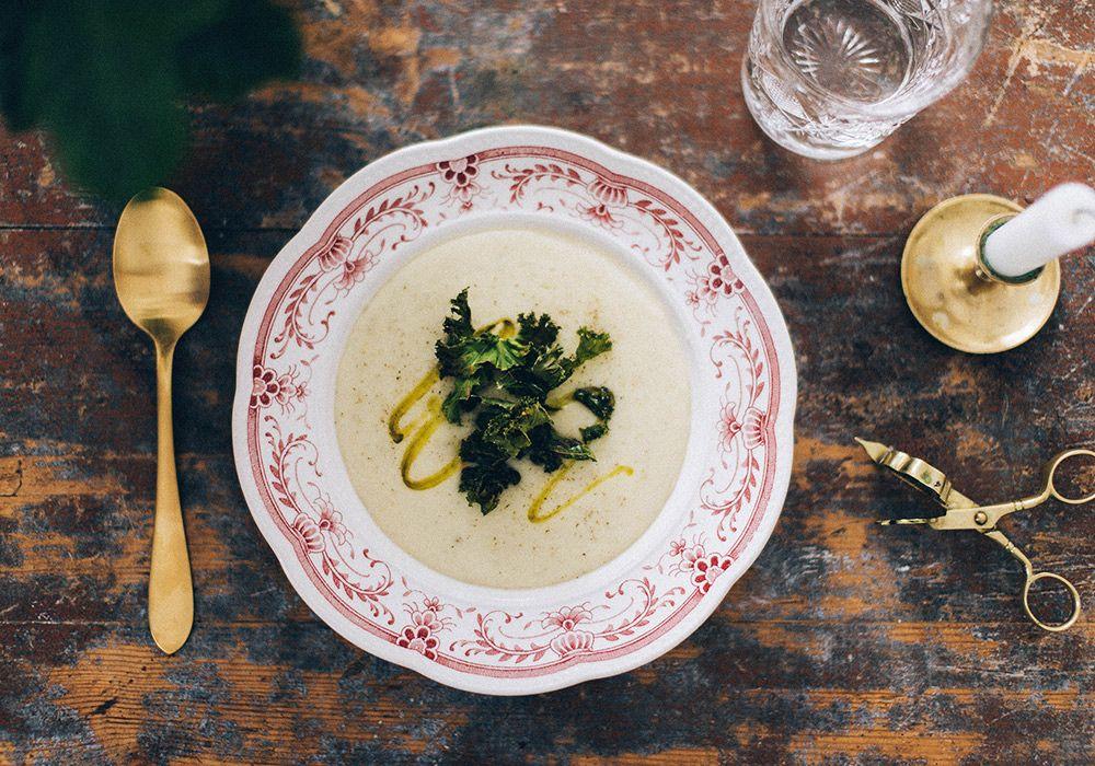hur mycket är en portion soppa