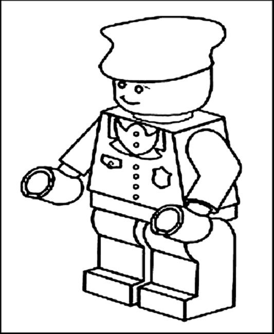 lego mario coloring pages