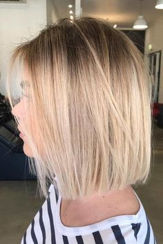Precise & Slightly Tousled Blunt Bob #sleekhair #ombrehair  Do you know how modern edgy bob haircuts can change your look for the better? Read this post and see our ideas to rock 2019 with a perfect cut! Long layered bobs with bangs short blunt ideas inverted and choppy cuts and lots of inspo-pics are here! #glaminati #lifestyle #edgybobhaircuts#hair #haircare #haircaretips #beauty #beautytips #hairmask #diy #edgybob Precise & Slightly Tousled Blunt Bob #sleekhair #ombrehair  Do you know how mod #edgybob