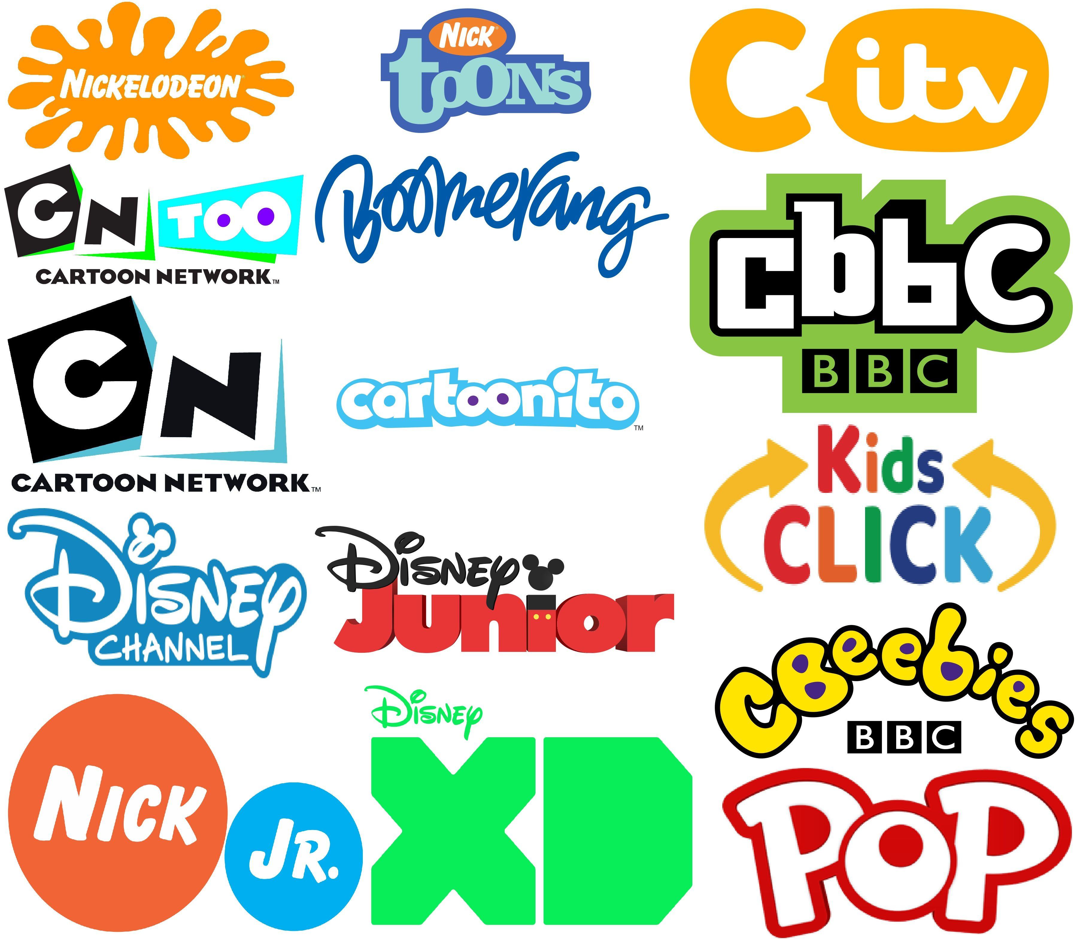 Kids Show Logo Bitmap Image em 2020 Logomarca