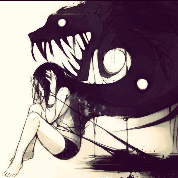 Illustrations By Alexandria Lomuntad Dark Art Drawings Anime Sketch Dark Anime