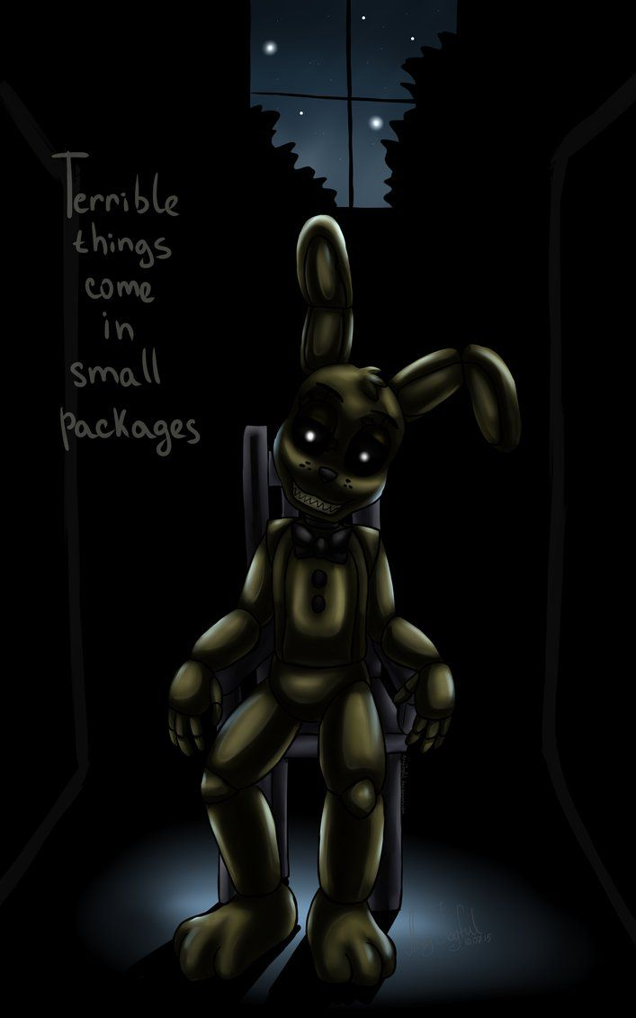 plushtrap five nights at freddy s 4 by artyjoyful on deviantart