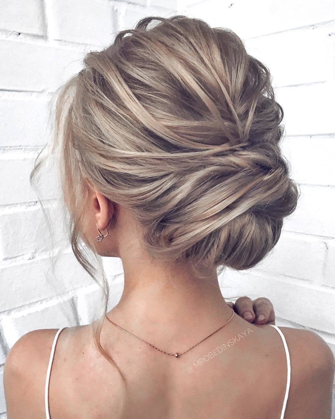 Wedding Hairstyles 2019: Updo Hairstyles For Prom, Wedding Or Etc. 2019