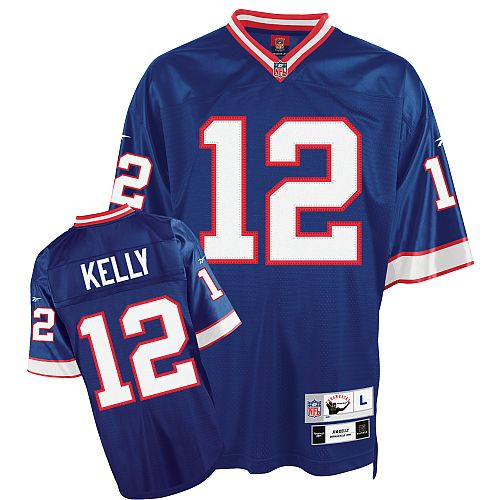 best sneakers 4df0c b88df mitchell and ness jim kelly jersey buffalo bills 12 white ...