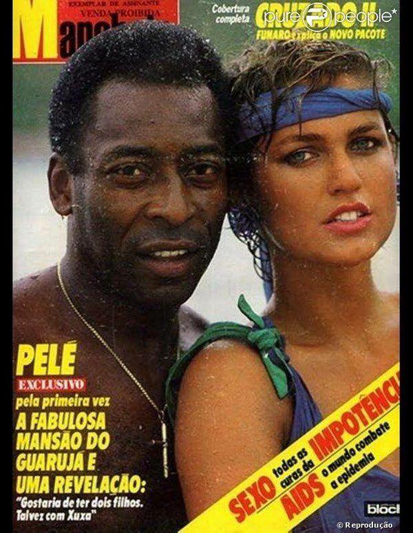 Xuxa Pele #Pele and #Xuxa #Brazi...