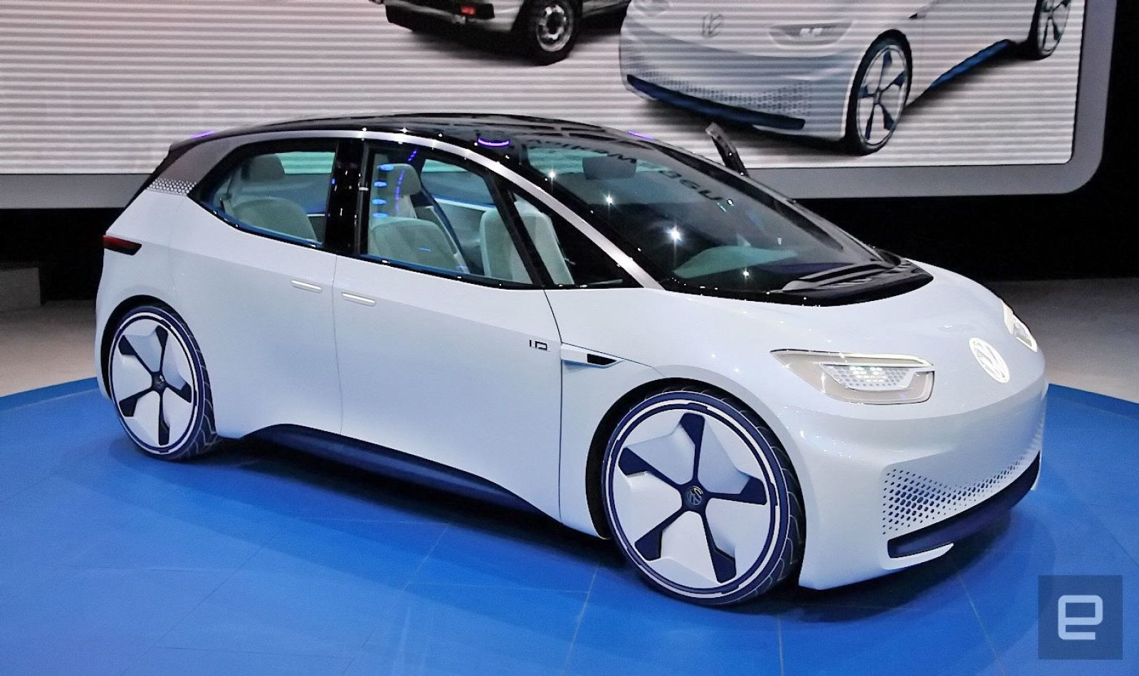 Vw S I D Ev Will Deliver A 300 Mile Range For The Price Of A Golf Volkswagen New Cars New Engine