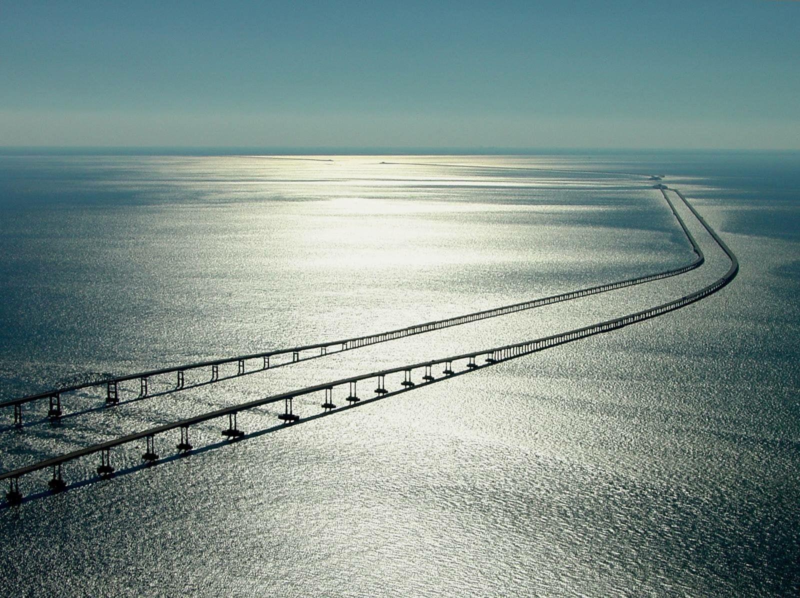 Chesapeake Bay Bridge In Va Beach