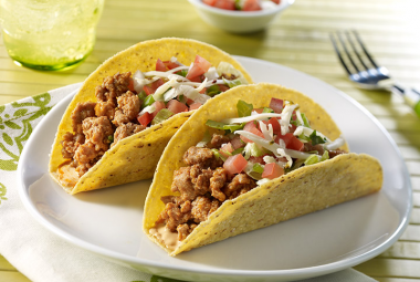 Chipotle Turkey Tacos #groundturkeytacos
