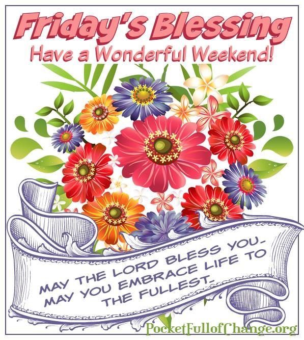 Image result for free clip art weekend blessings