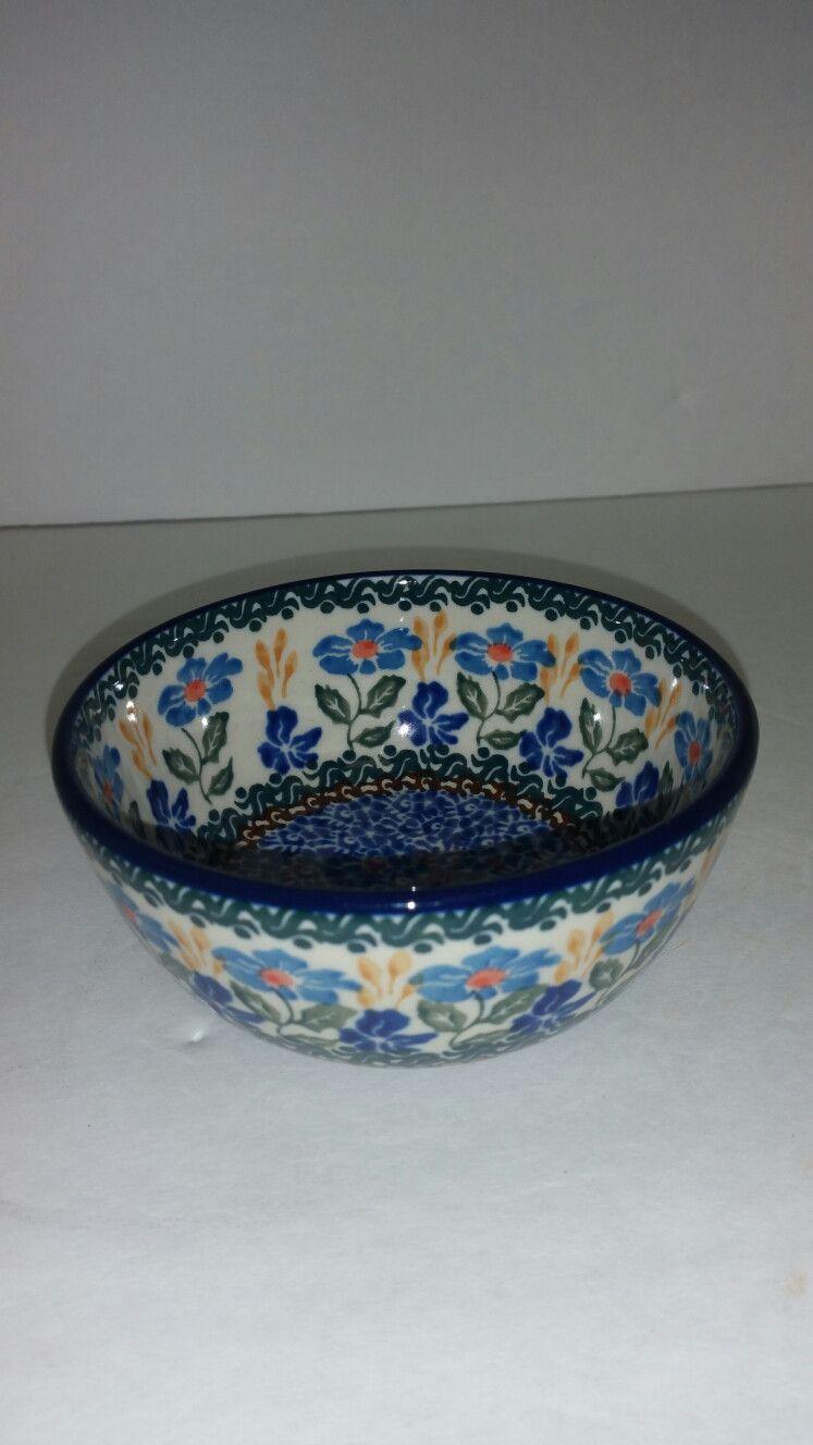 """Ice Cream Bowl (4.75"""" x 2"""") Blue Wheat Field"""