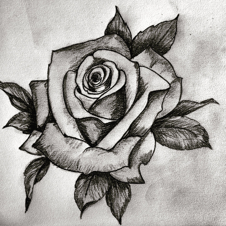 Rose tattoo design Rose tattoo design, Tattoos