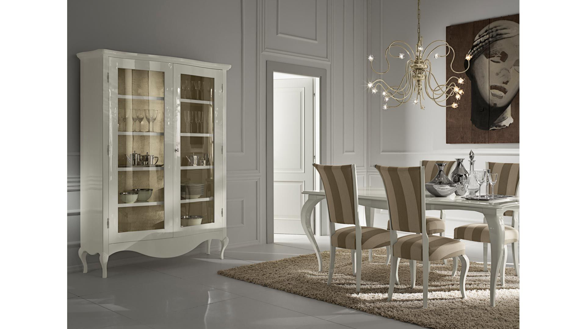 Cantori Sedie ~ Raffaello display cabinet living room furniture cantori