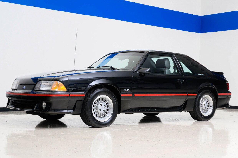 For Sale 1989 Ford Mustang Gt Black 5 0l V8 5 Speed 23k Miles Stangbangers Ford Mustang Gt Mustang Gt Ford Mustang