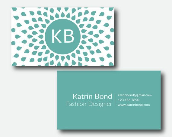 Business card photoshop template turquoise business card personal business card photoshop template turquoise business card personal business wajeb Gallery