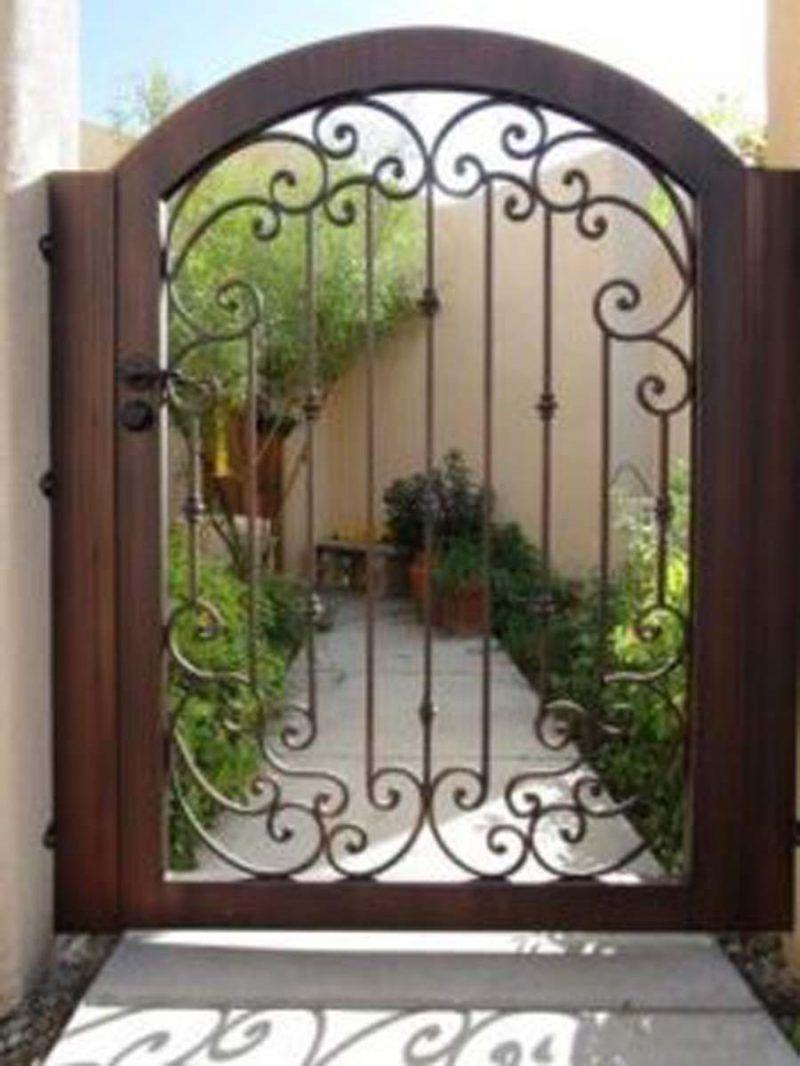 Wrought Iron Gates Ornamental Gates With Images Iron Garden