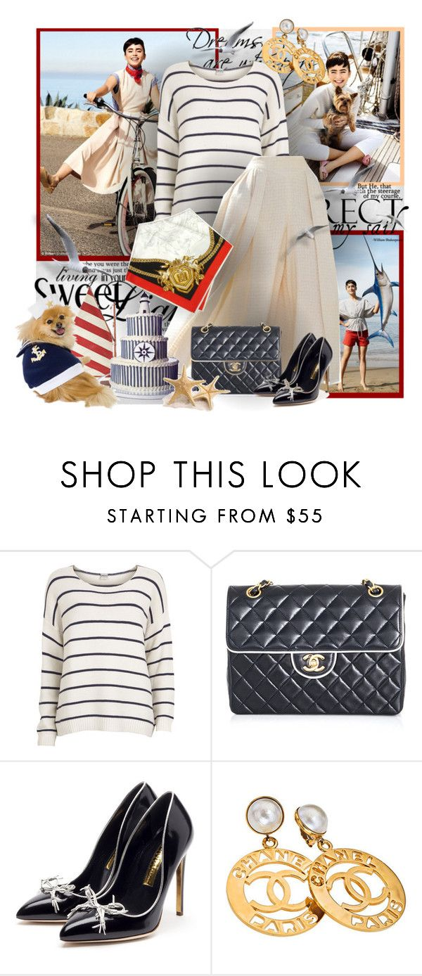 """""""№ 275"""" by olga3001 ❤ liked on Polyvore featuring Object Collectors Item, Dolce&Gabbana, Chanel, Rupert Sanderson and Givenchy"""