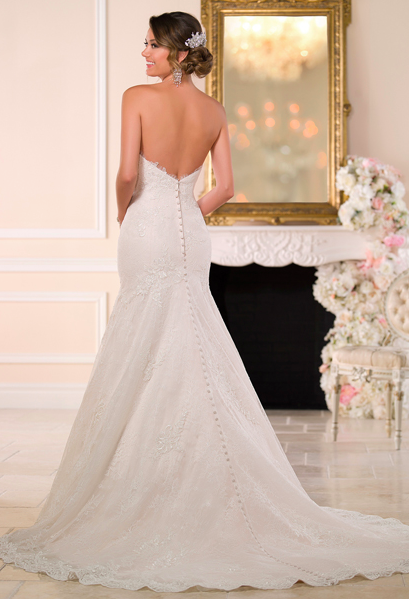 6027 Stella York Available At The Bridal Rooms Wedding Bride Weddingdress Stellayor Casual Wedding Dress Casual Lace Wedding Dress Wedding Dresses Sydney