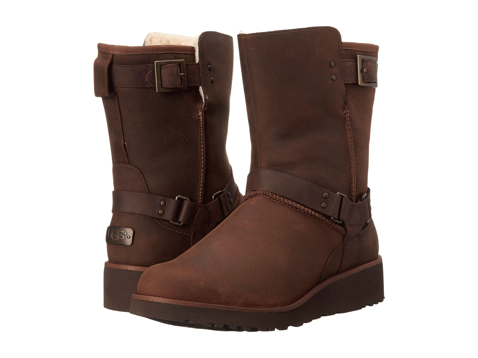 Womens Boots UGG Maddox Chocolate Satin