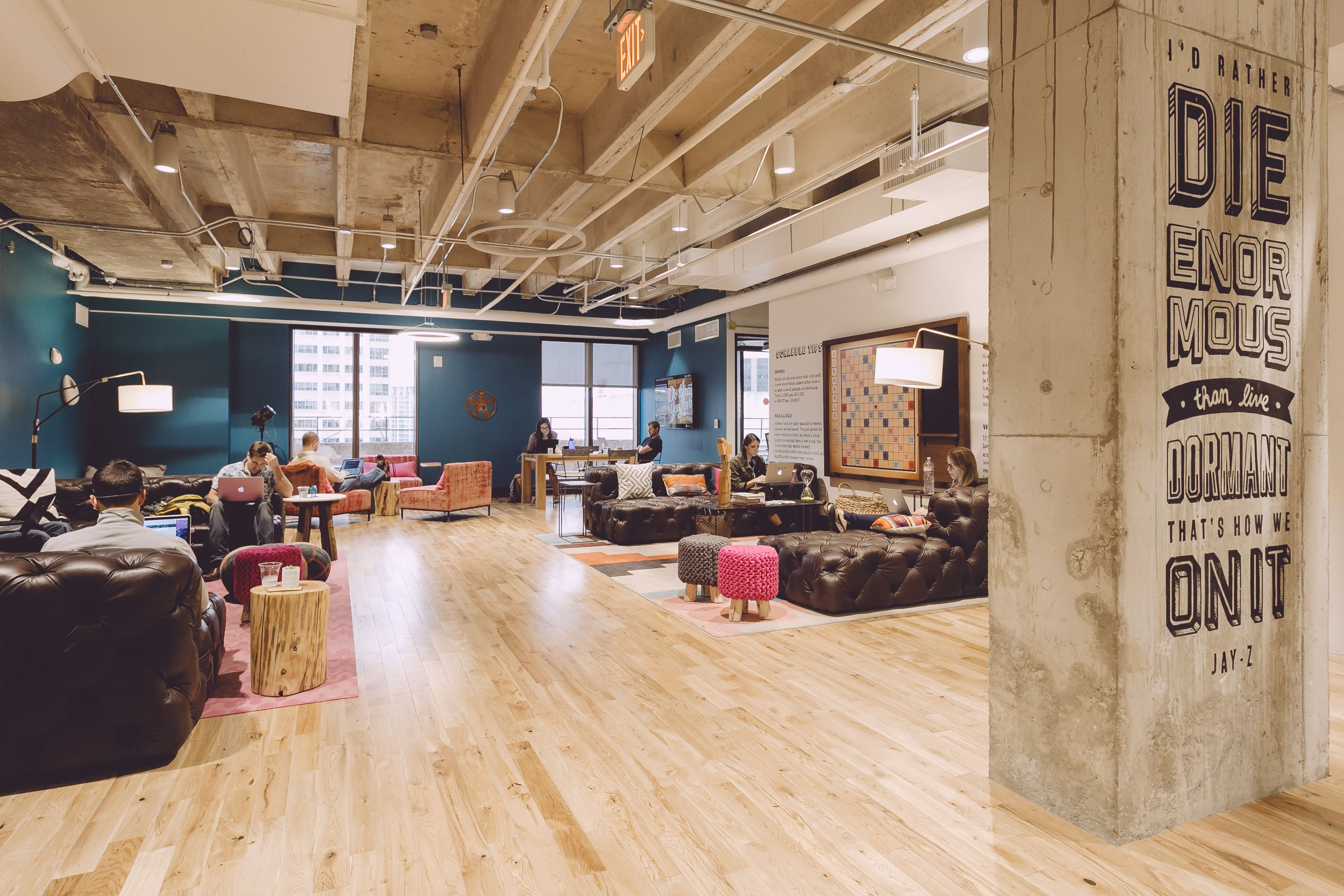 The great outdoors austin congress - Between Private Offices Custom Art And Unlimited Coffee Wework Congress Is The Downtown Austin Coworking Space You Ve Been Looking For