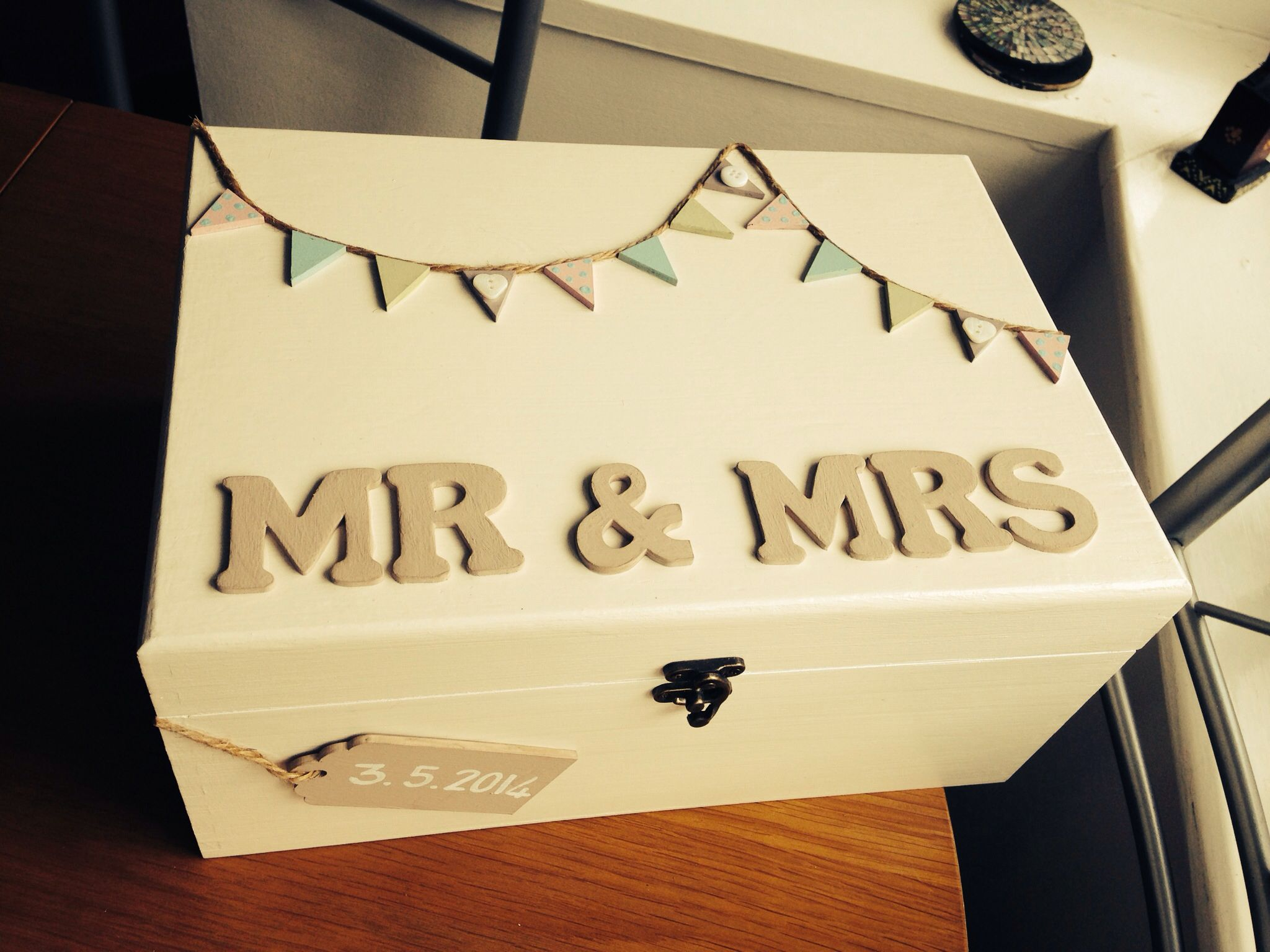 wedding memory box, wedding gift. My newest handmade creation ...