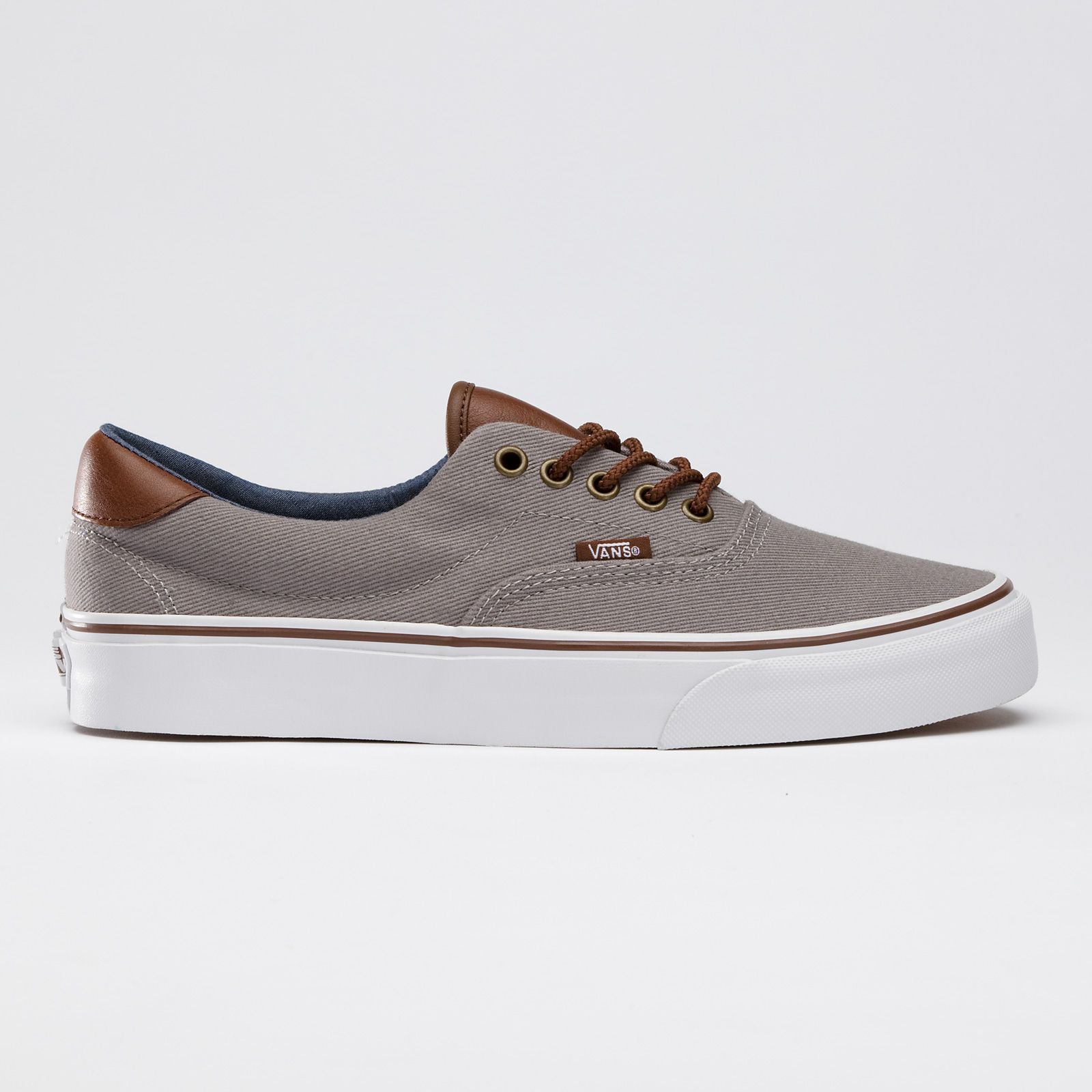 241ed55e6e Vans T L Era 59 - Cloudburst Gray Brunette Brown
