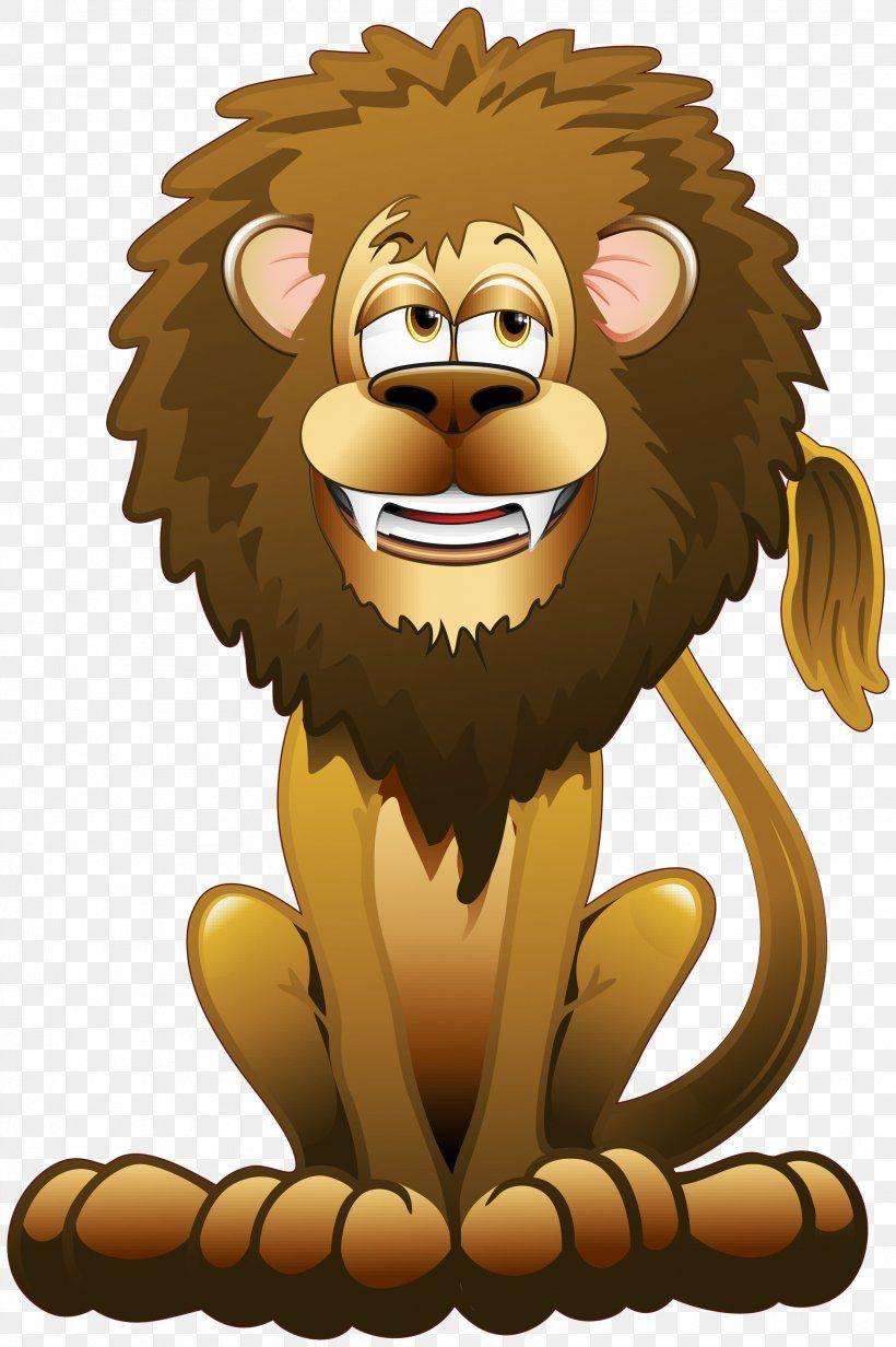 Lion Lion Cartoon Clip Art Png Lion Big Cats Carnivoran Cartoon Cat Like Mammal Cartoon Clip Art Animal Clipart Clip Art