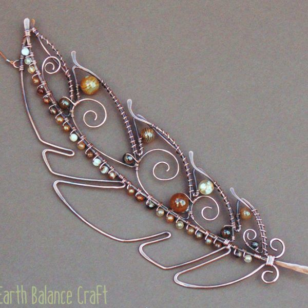 The Making Of - Work in Progress photographs of copper wire and ...